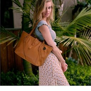 The Sak Heritage Leather Tote Ochre One Size